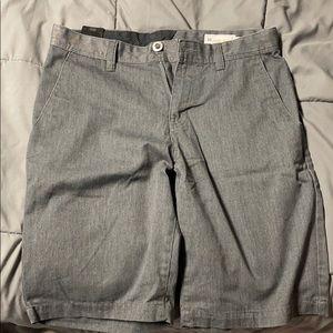 Dark grey Volcom shorts